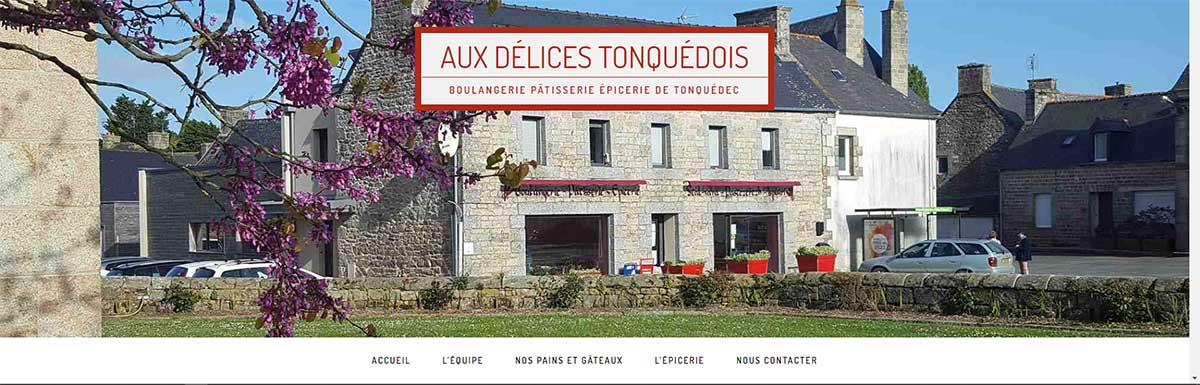 creation site internet boulangerie Lannion BreizhPress