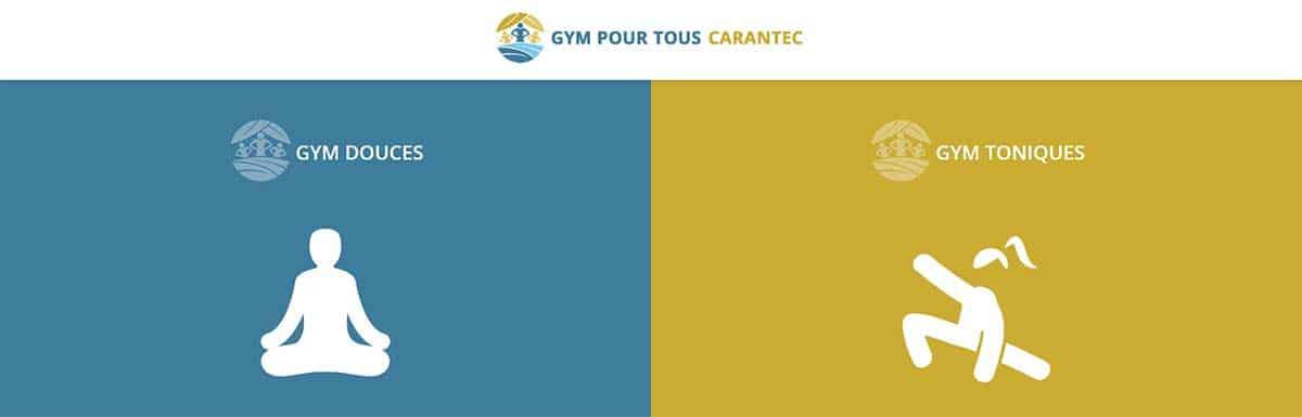 Finistere Carantec Gym Pour TousCréation du site internet