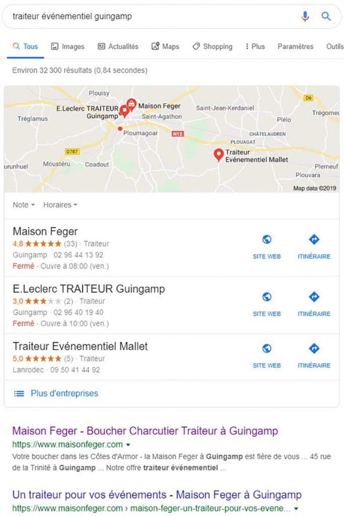 Réréfencement Maison Feger à Guingamp