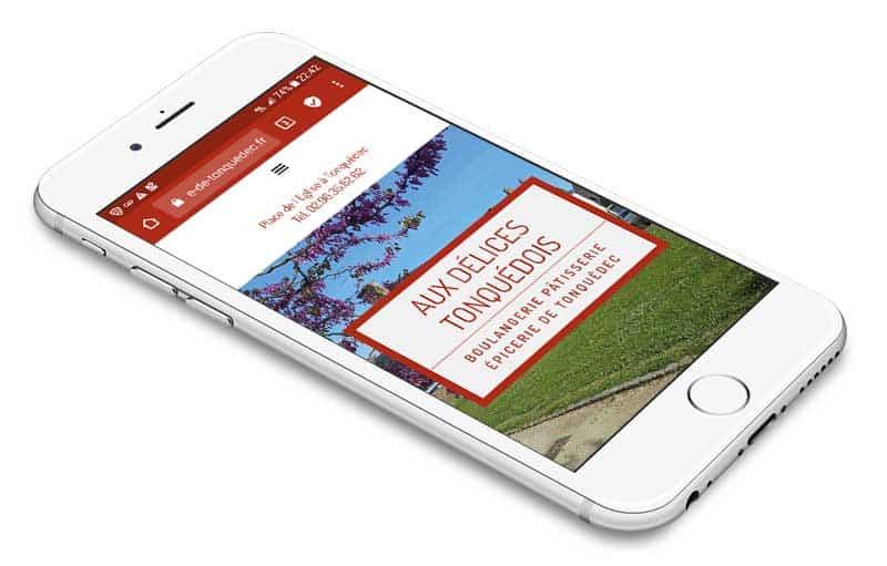 site internet responsive lannion breizhpress