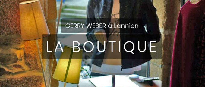 Site internet Gerry Weber Lannion - cas client
