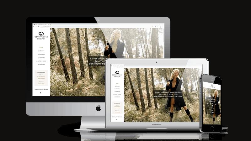 Lannion - site responsive création BreizhPress